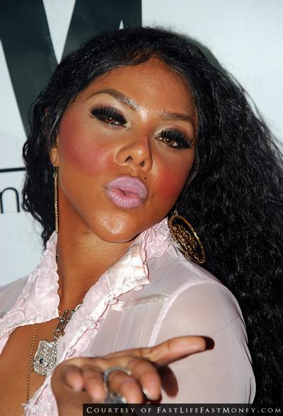 Lil Kim does it every time.