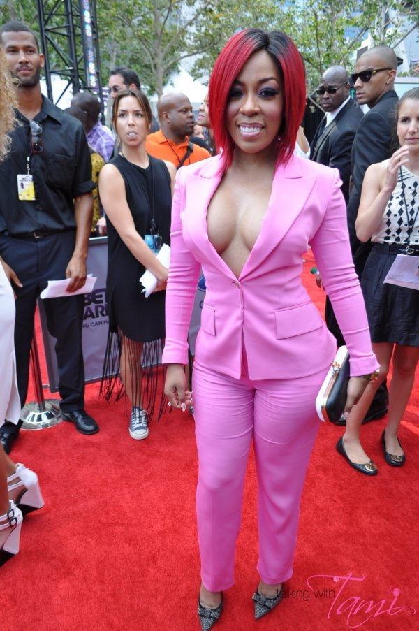 K Michelle 2013 Bet Awards He could have at least talked