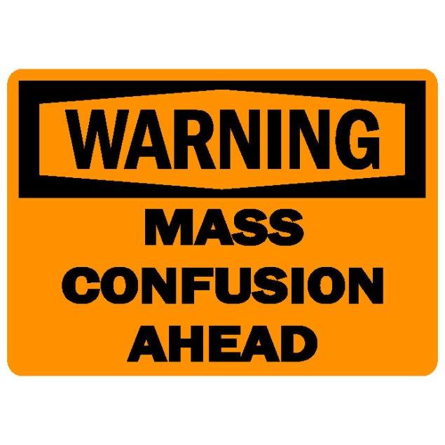 confusion 1