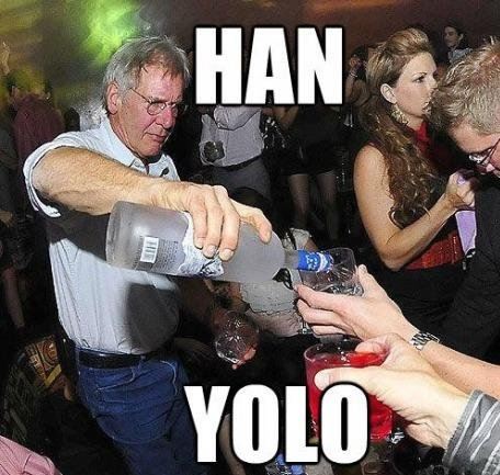 Han Solo is the only one that should concern himself.