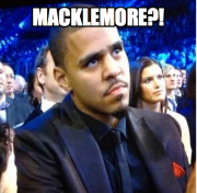 Meanwhile, J Cole stays mad.