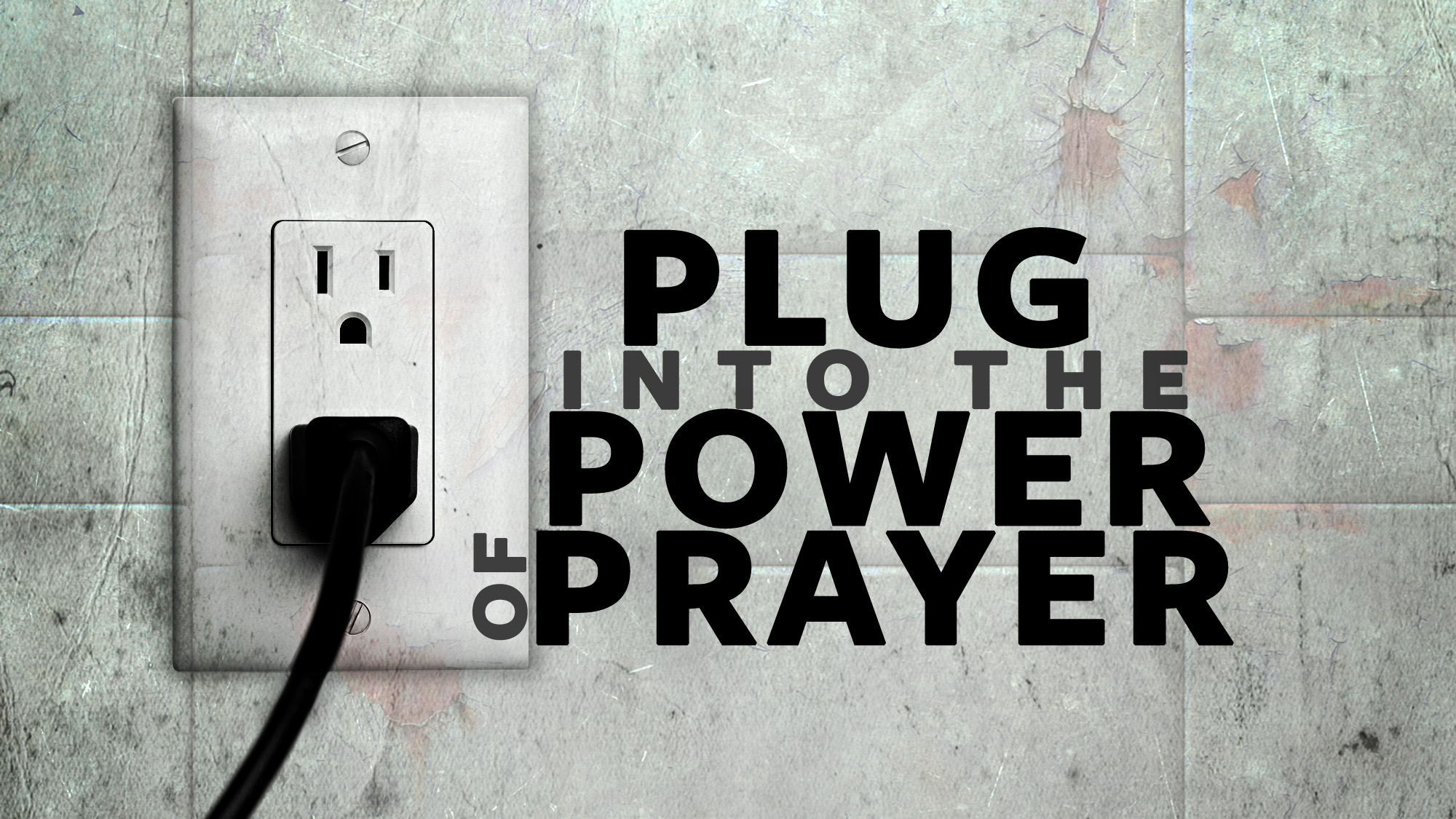 The power of prayer is waiting for you to ask and receive.